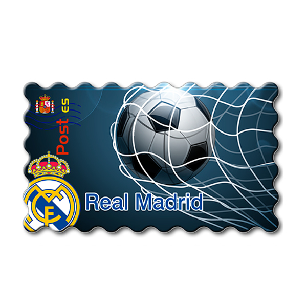 Imanes Real Madrid Sello RED