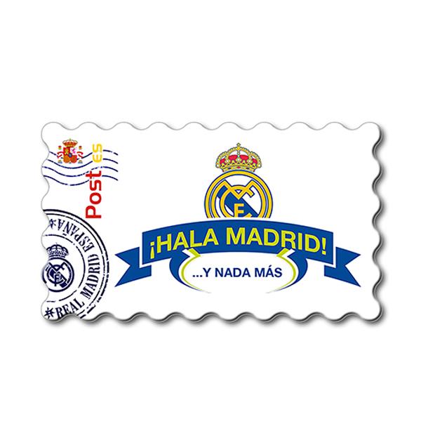 Imanes Real Madrid Sello HALA