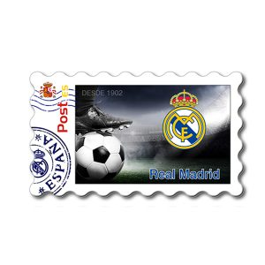 Imanes Real Madrid Sello Bota