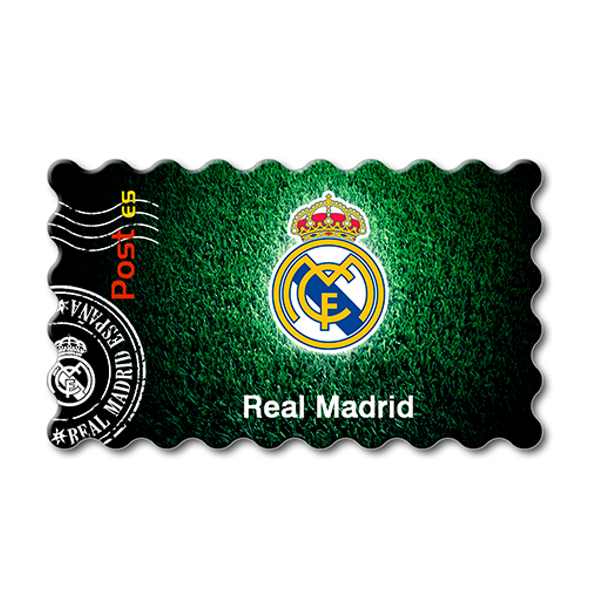 Imanes Real Madrid Sello Cesped