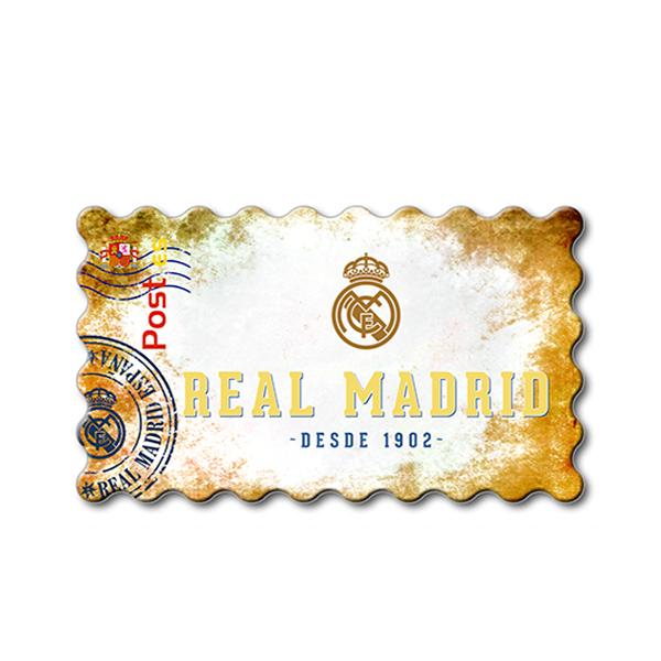 Imanes Real Madrid Sello LUZ