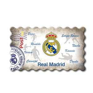 Imanes Real Madrid Sello Sombra