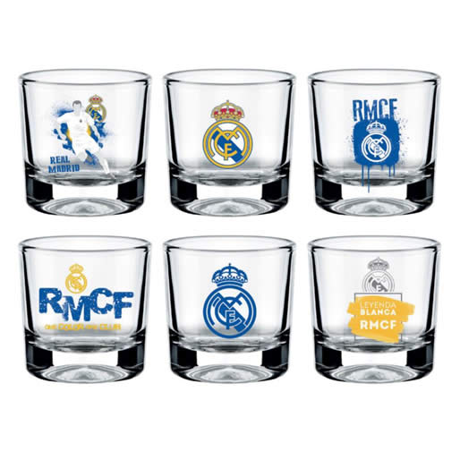 Merchandising Real Madrid Vasos Chupitos