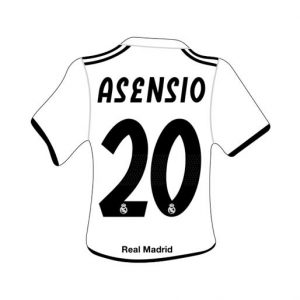 Merchandising Real Madrid Camiseta Asensio