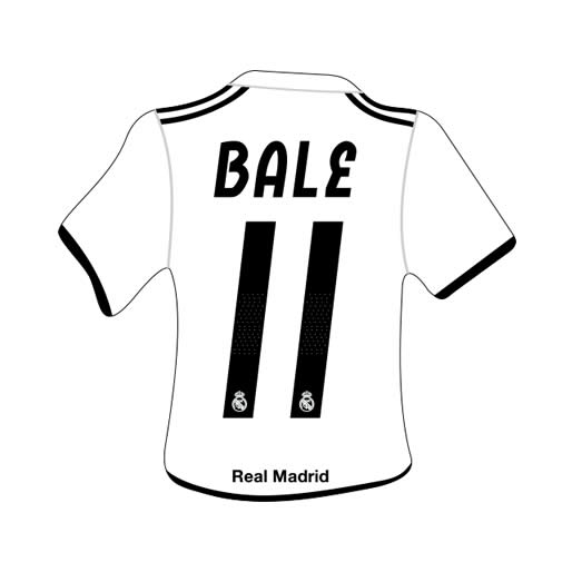 Merchandising Real Madrid Camiseta Bale