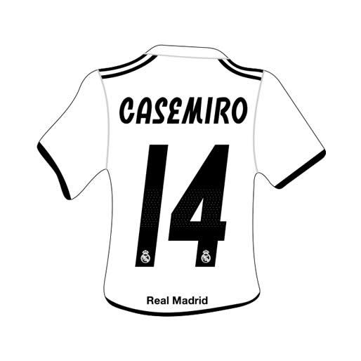 Merchandising Real Madrid Camiseta Casemiro