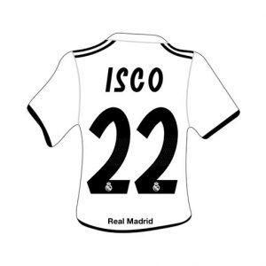 Merchandising Real Madrid Camiseta Isco