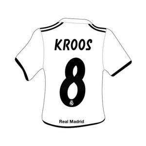 Merchandising Real Madrid Camiseta Kroos