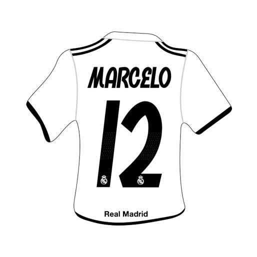 Merchandising Real Madrid Camiseta Marcelo