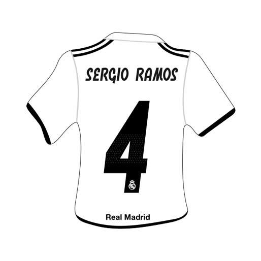 Merchandising Real Madrid Camiseta Sergio Ramos