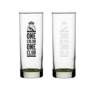 Merchandising Real Madrid Vasos Cristal
